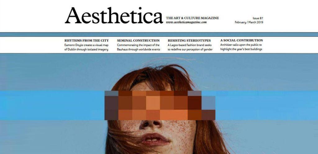 Aesthetica Magazine about Paweł Sadaj